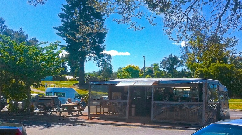 Stir Cafe, by the boats, Taupo.