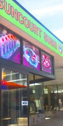 Suncourt Sushi. Excellent.