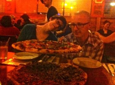 Fab pizza at Sacco Bowl. HavenJPG
