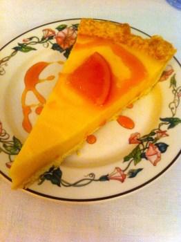 My desert - citron with raspberry. Hotel D'Alibert
