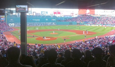 The Red Sox Baseball game