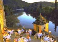 Chateau de la Trayne above the Dordogne River