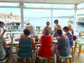 Friday at Manly Wharf Bistro