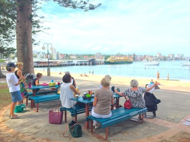 Thursday at Manly Beach
