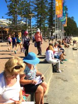 Saturday at Manly beach