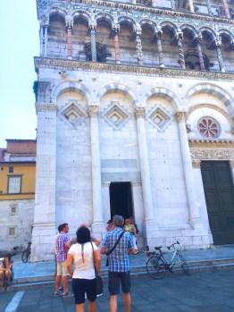 Sunday. The iconic churches