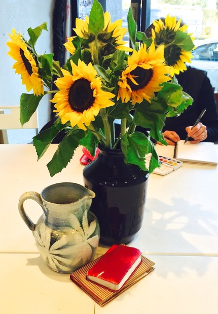 Tuesday. Sunflower still life