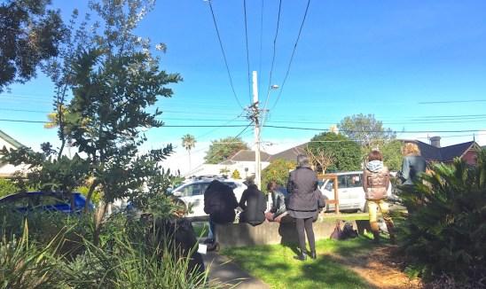 Saturday. Sketching Telegraph poles