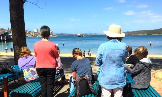 Fri Gen. Sketching the Manly ferry