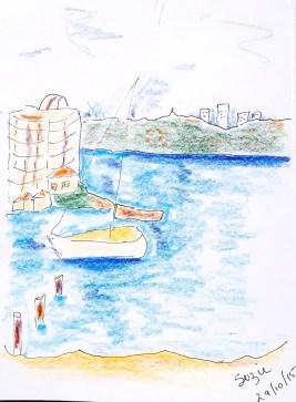 Sat New. Suzie's sketch