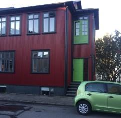 Flat we stayed in dowtown Reykjavik