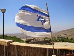 Flag Flying high over the desert