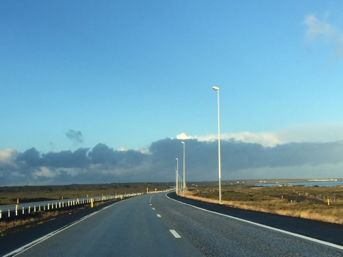 Drive from airport to Reykjavik