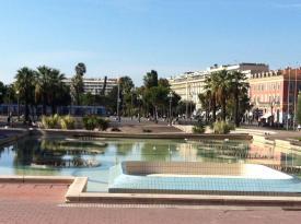 Main Square in Nice, France