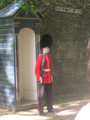 Iconic London Guard, Buckingham Palace, London