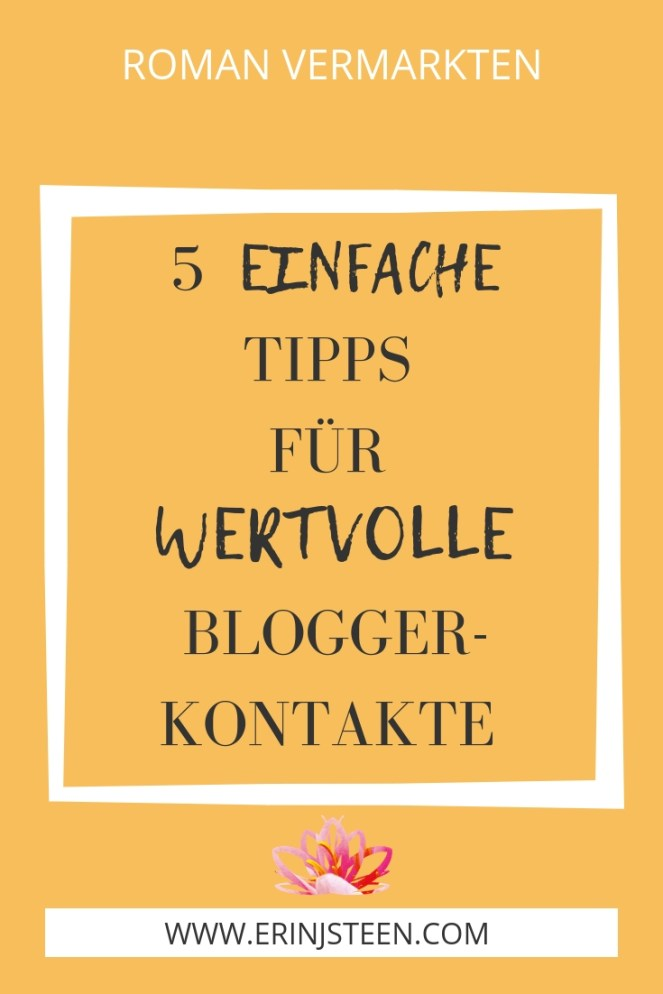 5 einfache Tipps für wertvolle Bloggerkontakte von YouTuberin Lia Katrina