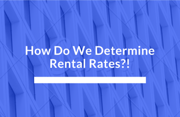 let's talk : DETERMINING RENTAL RATES