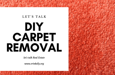 let's talk : DIY CARPET REMOVAL & HOW TO SAVE YOUR HARDWOODS