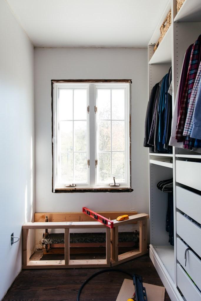 Astonishing How To Build A Radiator Window Bench Erin Kestenbaum Machost Co Dining Chair Design Ideas Machostcouk