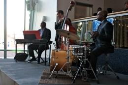 A little jazz music set the mood