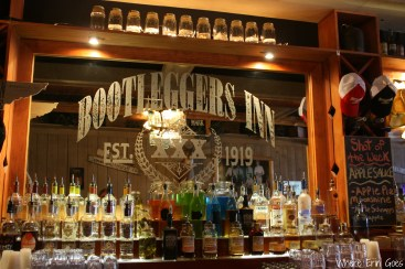 Bootleggers Inn in Nashville is known for its flavored moonshines. (Photo by Erin Klema)