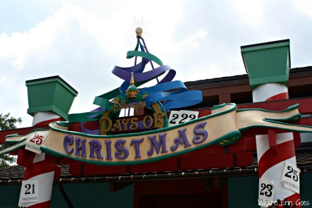 Disney's Days of Christmas store is full of novelty ornaments for your tree! (Photo by Erin Klema)