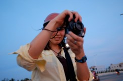 Capturing a Mekong sunset in Can Tho, Vietnam. Photo by Bao Quan Nguyen.