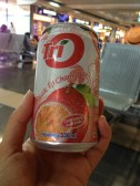 Passionfruit juice at the Hanoi airport - yum!