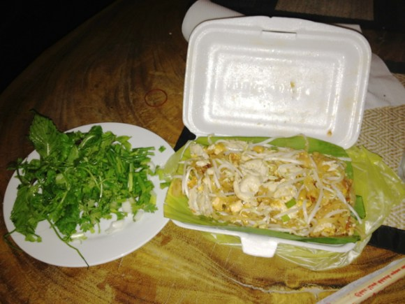 Pad thai - some street food on recommendation