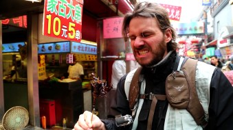 CHINA mark eating scorpion