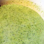 Broccoli, Leek, Celery and Stilton Soup