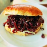 Easy Caramelized Onion and Camembert Sandwiches