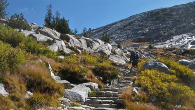 The Stairs To Donahue Pass