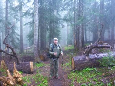 Braving the Washington Rain & Mist