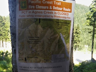 Fire Closure Notice