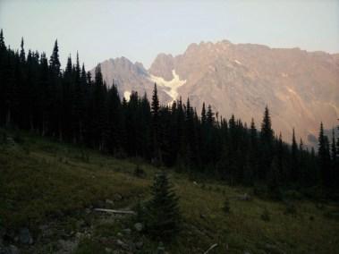 Looking Back Towards Glacier Pass