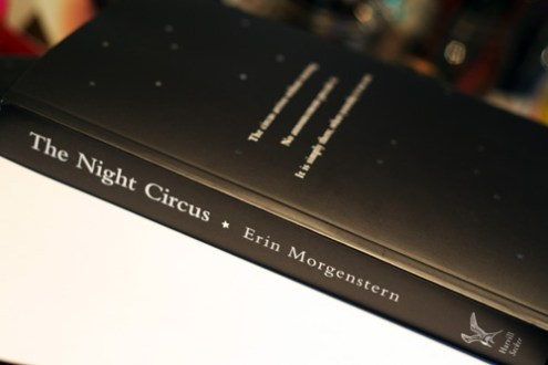 early night circus  uk version   erin morgenstern Bound proof of THE NIGHT CIRCUS