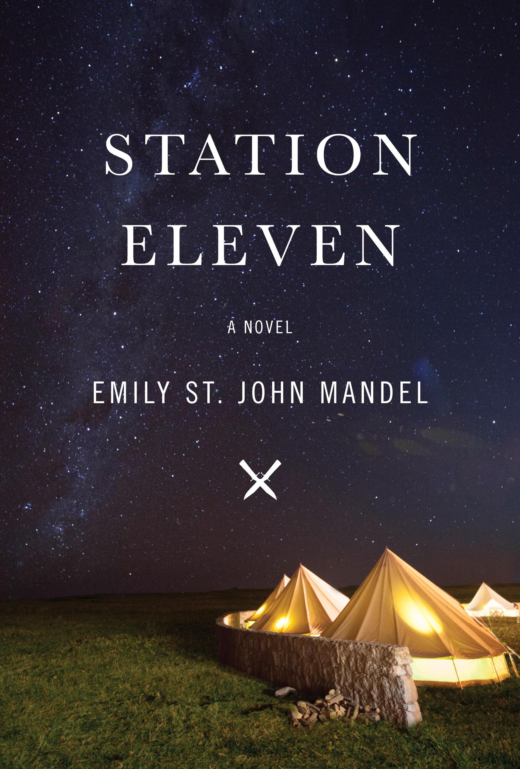 Afbeeldingsresultaat voor station eleven book cover