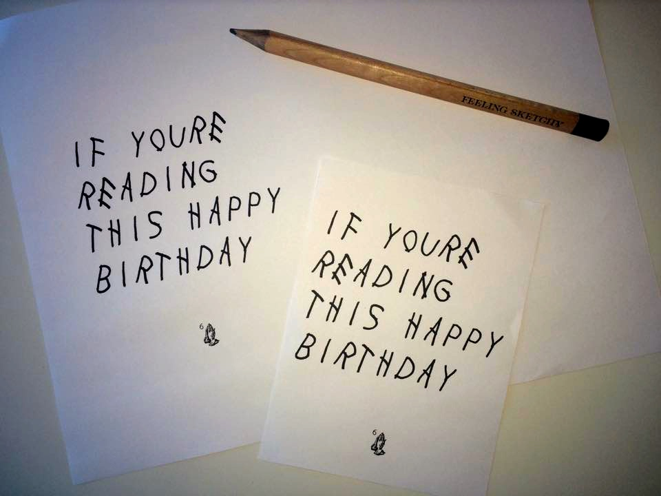 Diy If You Re Reading This Happy Birthday Cards