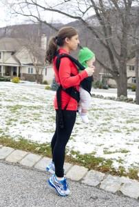 Workout Wednesday: Baby-Wearing Calf Raises