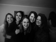Sarah, Cinthia, Sofia, Katie and I