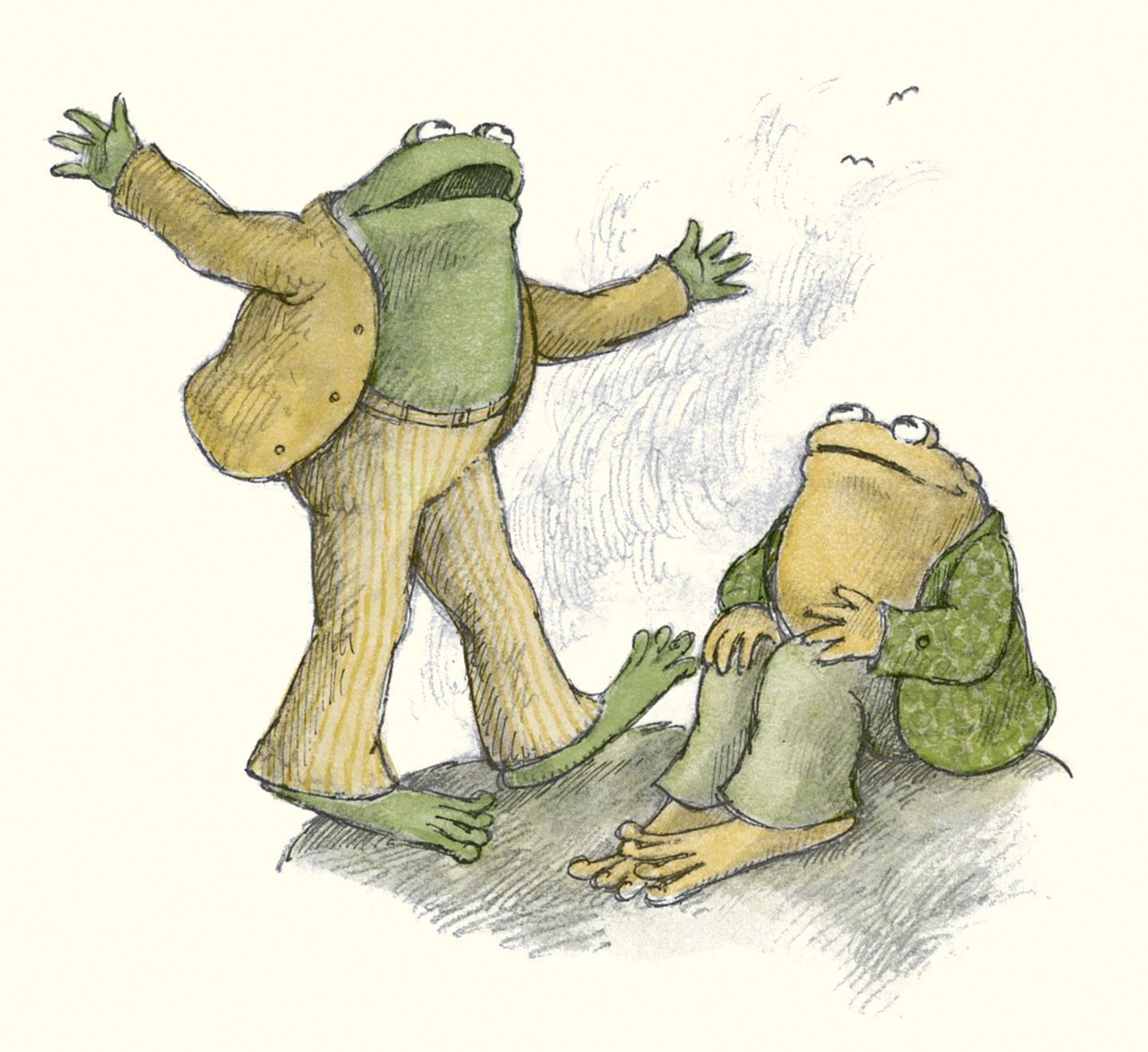 Frog And Toad The Garden A Lesson