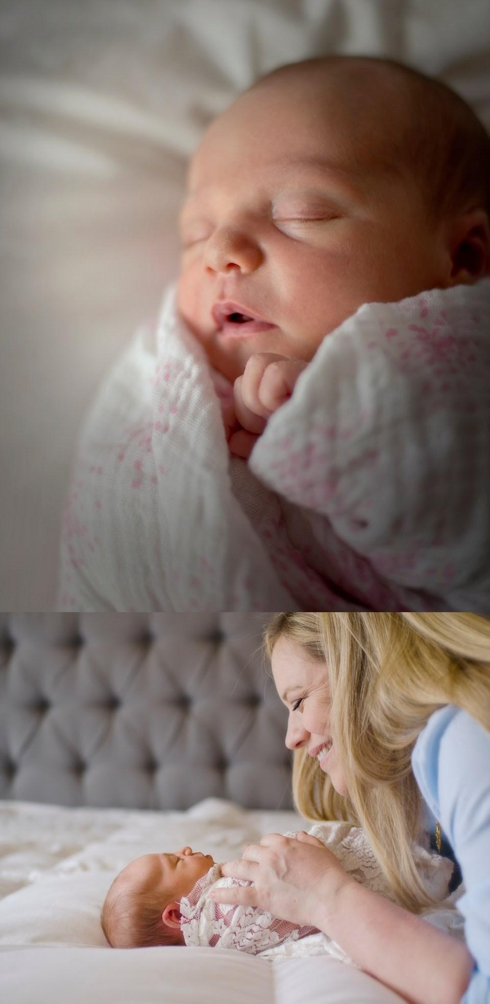 Baby Girl Newbon Session McLean, VA