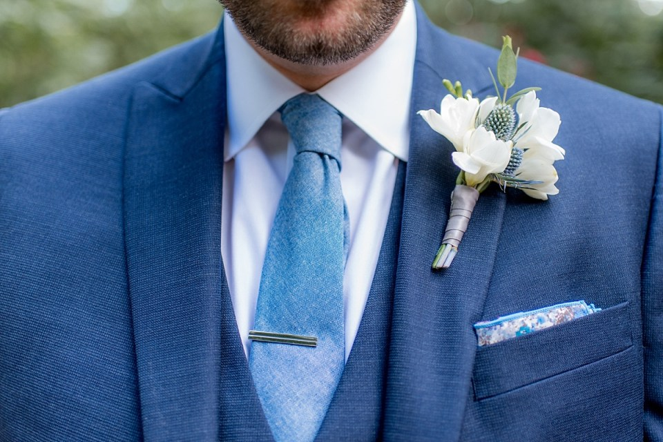 Groom at Carlyle House Wedding