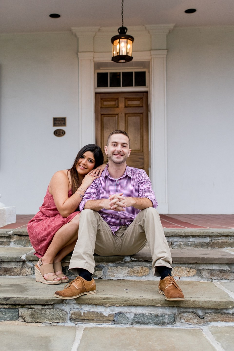 Summer Engagement Session at Glenview Mansion