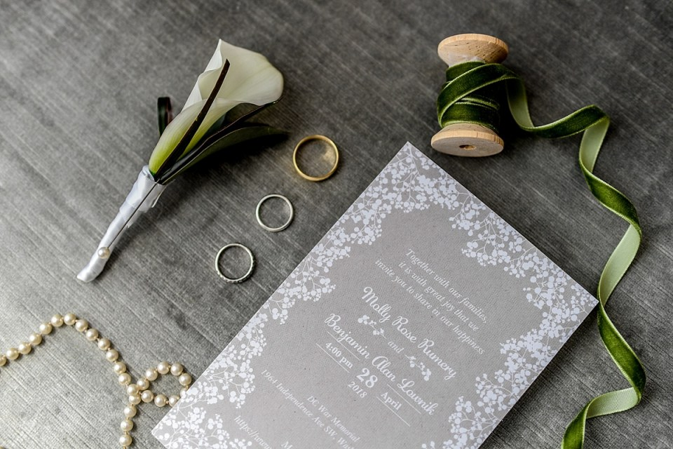 Wedding Details for DC War Memorial Wedding by Erin Tetterton Photography