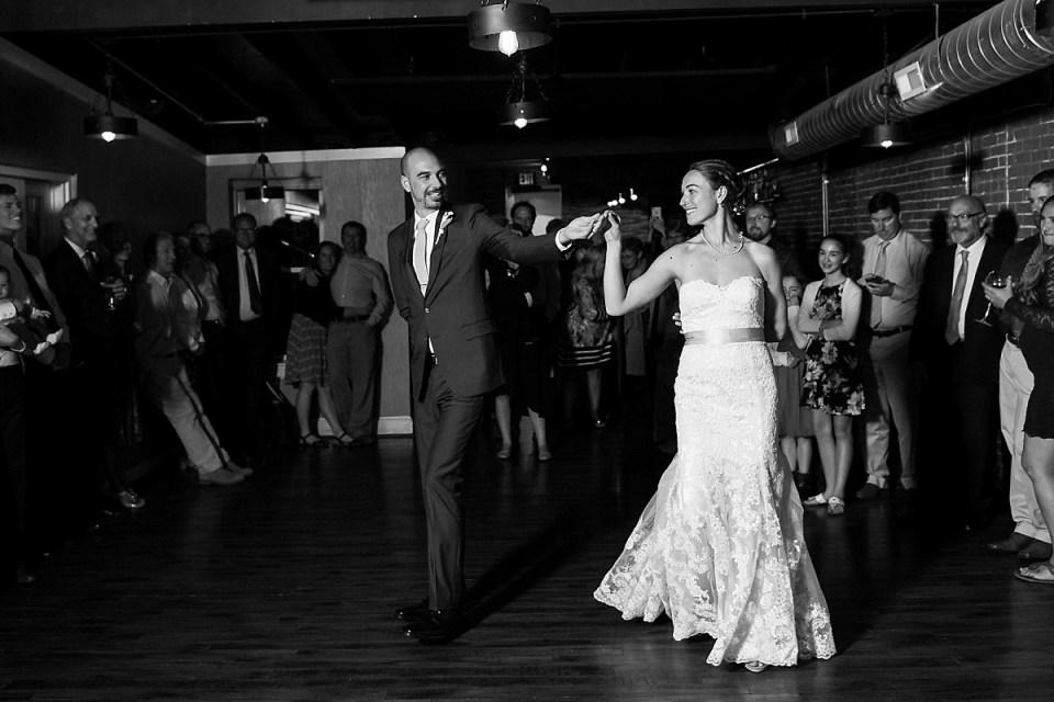 First Dance at Washington DC Wedding