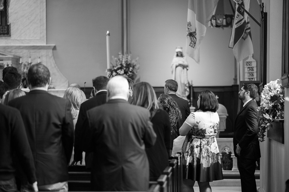 Baptism at St. Mary's in Old Town Alexandria, VA