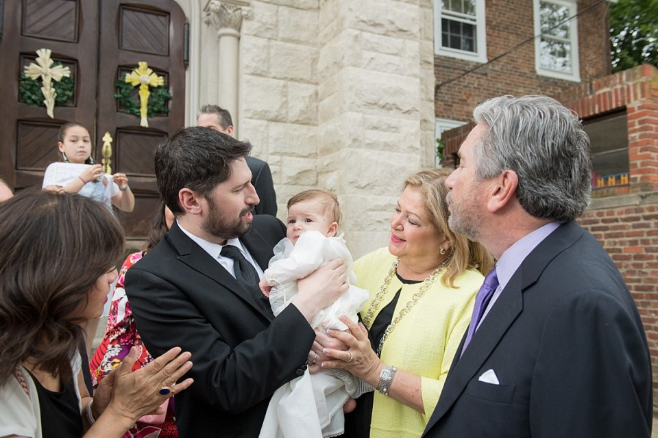 Baby Baptism at Catholic Church in Alexandria, VA