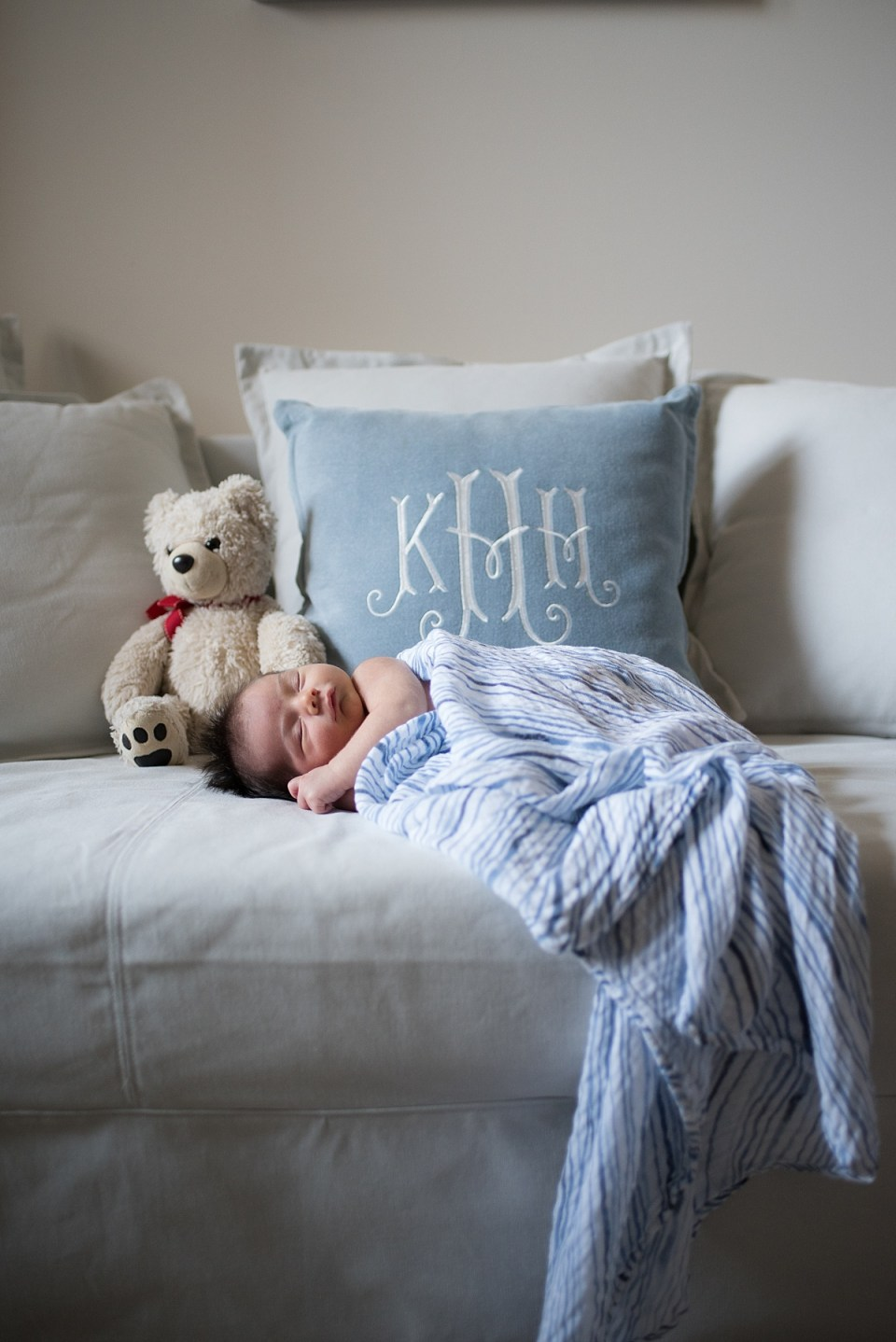 Baby Boy Newborn Session in Arlington, VA by Erin Tetterton Photography